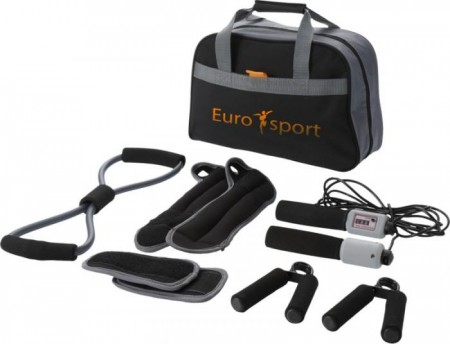Go-fit 9-piece fitness kit