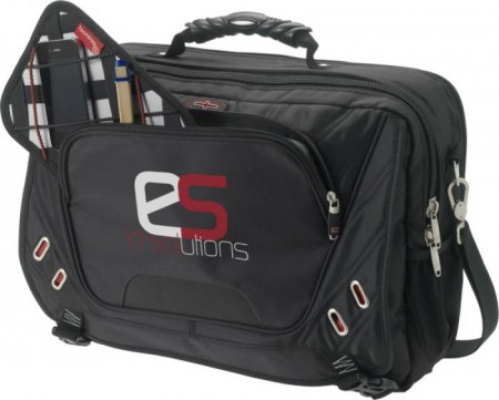 "Proton security friendly 17"" laptop briefcase"