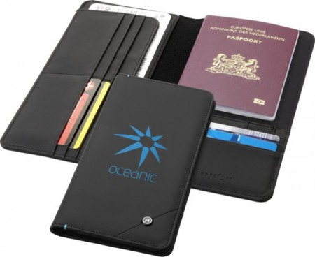 Odyssey RFID secure travel wallet