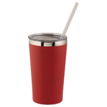 Thor 475 ml copper vacuum insulated tumbler, red
